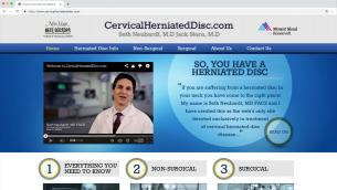 Cervical Herniated Disc Website