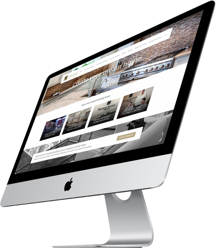 Frankel Building Group Website Design