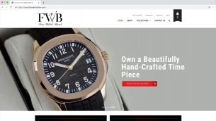 Fine Watch Bank Website