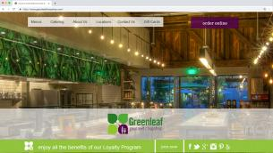 Greenleaf Gourmet Chopshop Website
