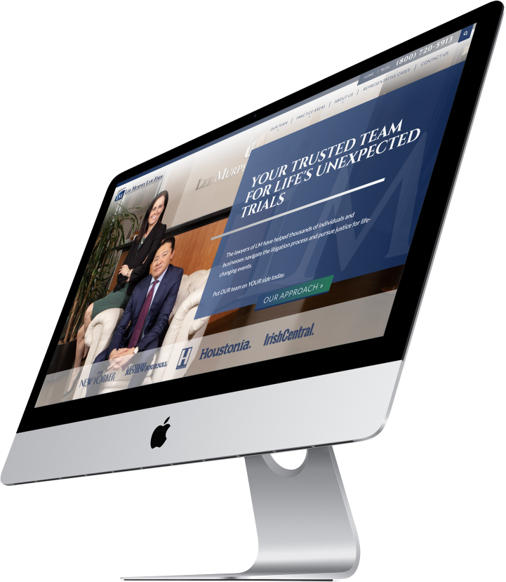 Lee Murphy Law Firm Website Design