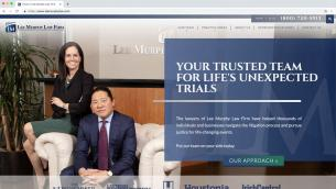 Lee Murphy Law Firm Website