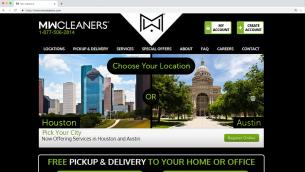 MW Cleaners Website